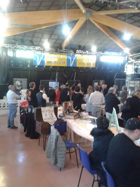 Salon du livre de Morières les Avignon 17 octobre 2015