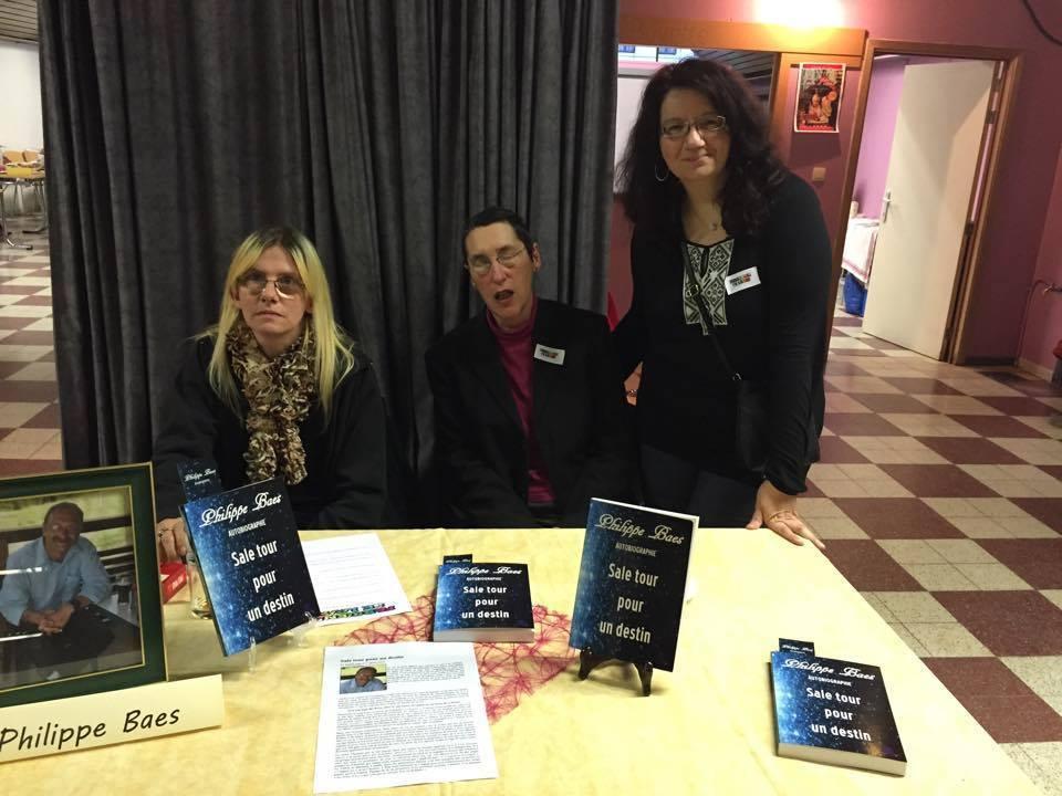 Salon du livre de Farciennes (B) 22 novembre 2014