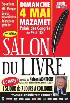 Salon du livre de Mazamet 4 mai 2014