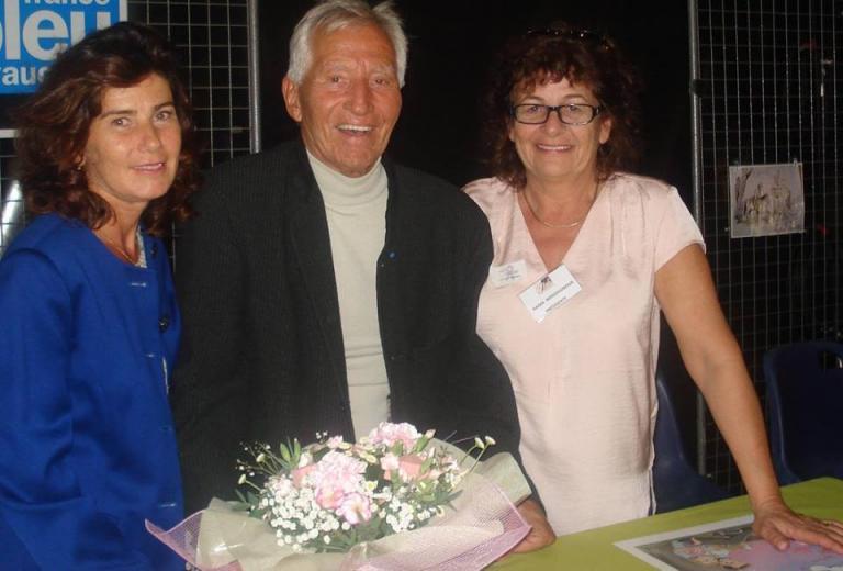 Jacques Salomé, sa femme et Nadia