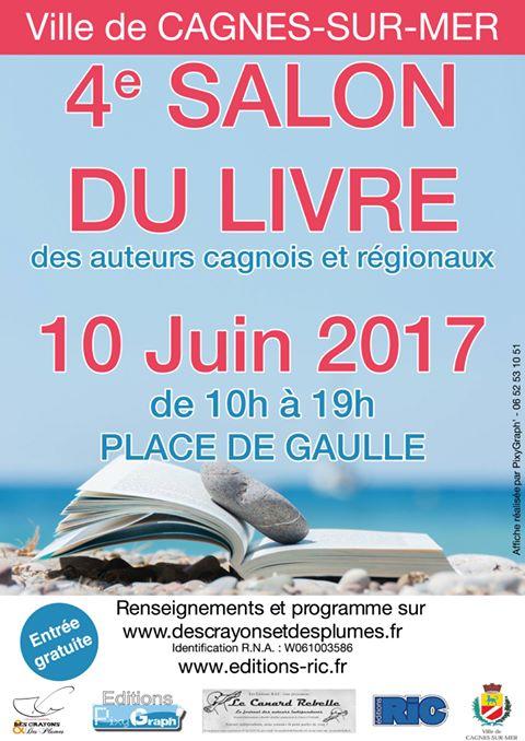 Salon du livre de Cagnes-sur-Mer