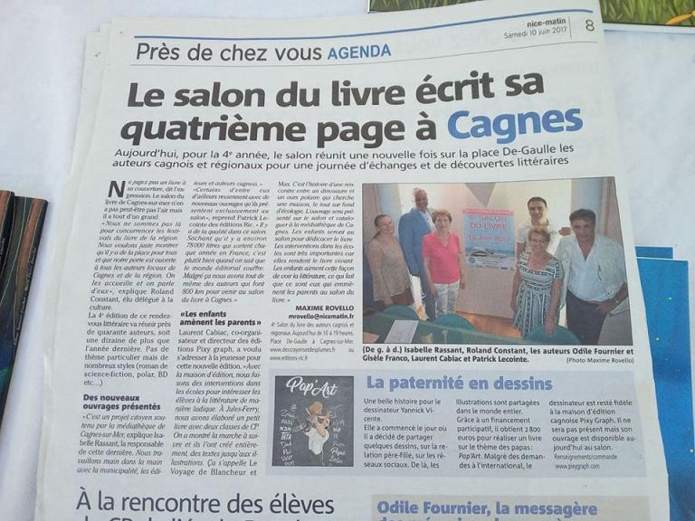 Article de Nice-Matin