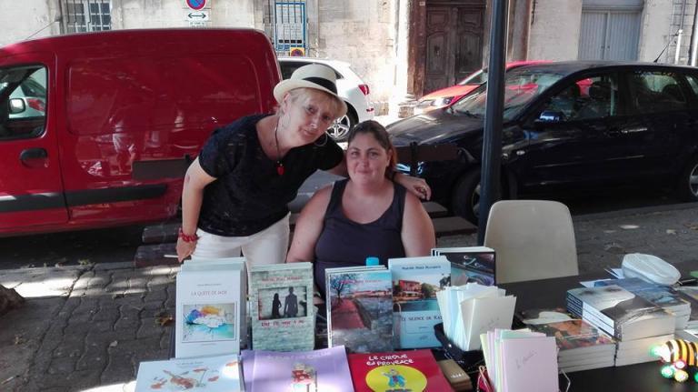 Martine Platarets et sa fille Jennifer
