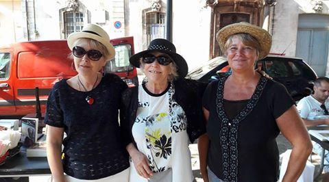 Martine Platarets, Anne-Marie Quintard et moi.