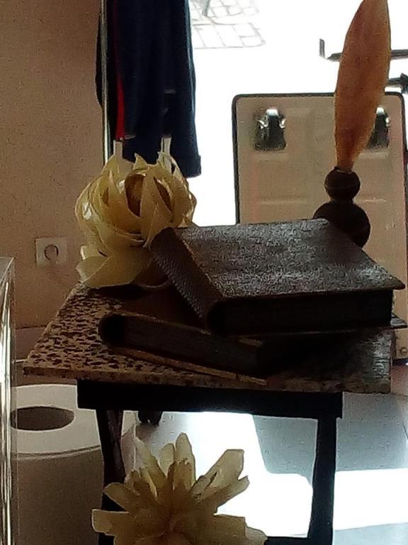 Une oeuvre en chocolat