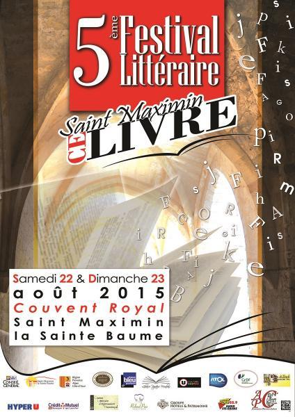 Salon du livre de Saint-Maximin (Var)