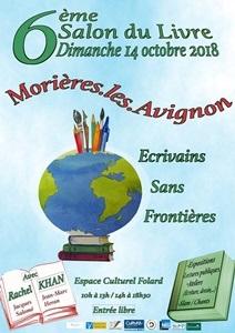 Salon du livre de Morières les Avignon 2018