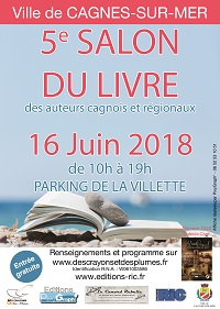 Affiche salon cagnes 2018