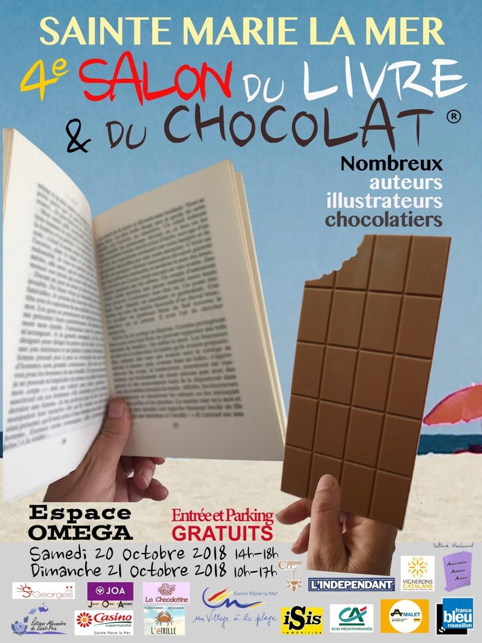 Thumbnail affiche 2018 4e salon du livre et du chocolat